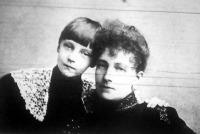 Stefánia és leánya Erzsébet