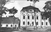 A katolikus polgári fiúiskola építésének első szakasza