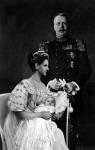 Vilma királynő férjével