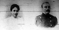 Salm-Salm Emanuel herceg és jegyese Mária Krisztina főhercegnő