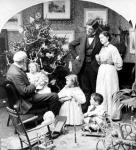 Családi karácsony a századfordulón