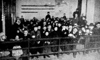 Ingyentejosztás Budapesten, 1901