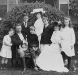 Theodore Roosevelt  és családja 1903-ban