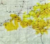 Erdélyi térkép részlete