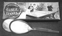 Asztaliteniszütők 1902-ből