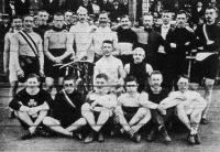 Versenyzők csoportja az Olympia versenyén