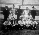 Az FTC első csapata, az 1903-as bajnokság első helyezettje