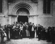 József főherczeg mint násznagy egy czigány vajda esküvőjén