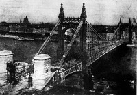 Az Erzsébet- híd 1903. októberében