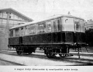 A magyar királyi állami vasutak mótoros próbakocsija