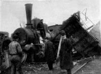 Az összeütközött tehervonatok