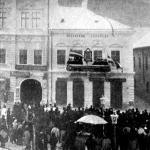 Bólyai János emléktáblájának leleplezése Kolozsvárt január 15-én