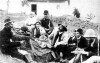 Vikár Béla folklórgyűjtő úton