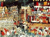 A mohácsi csata  - török miniatúra