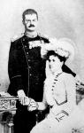 Az áldozatok  Sándor szerb király és Draga királyné