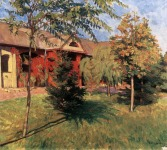 A Szolnoki Művésztelep - Kléh János festménye