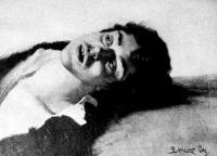 Benczúr Gyula fekvő férfi
