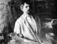 Ferenczy Károly önarcképe