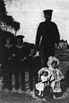 Frigyes Ágost gyermekeivel: Frigyes, György, Ernő, Mária, Margit