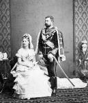 A 17 éves Koburg Lujza Fülöp herceggel - amikor úgy tűnt, minden rendben van
