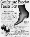 Amerikai cipőreklám 1904 - ből