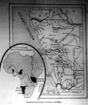 Az afrikai német gyarmatok térképvázlata