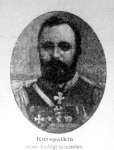 Kuropatkin orosz hadügyminiszter