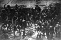 Visszavonuló orosz csapatok