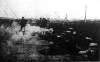 Japán katonák lőgyakorlata
