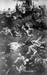 Közelharcban elesettek az orosz-japán háborúban