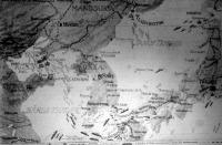 Térkép az orosz-japán hadszíntérről