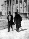 Gróf Andrássy Gyula és Goluchowsky külügyminiszter