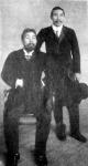 Jaye Mishio és dr. Kinoszuka Inonye