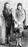 A János Vitéz II. felvonásából Fedák Sári és Papp Miska