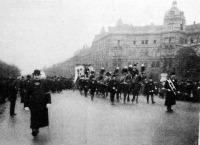 Lotz Károly temetése
