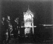 Sándor király és Draga királyné sírja