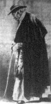 XIII. Leó pápa sétája a Vatikánban