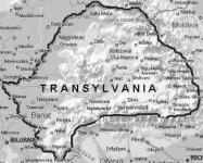 Transylvania térképe