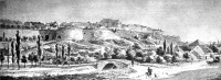 Buda vára az ezernyolcszáznegyvenes években