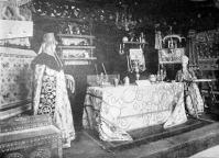 A párisi világkiállításról - terem egy régi orosz földesúr lakásában