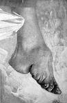 Kínai nő megnyomorított lába