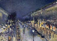 Pissaro : Az esti boulevard