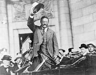 Theodore Roosevelt (1858. október 27. -1919. január 6.).
