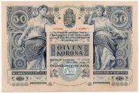 50 koronás bankjegy