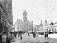 A régi városház Budapesten