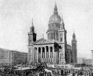 A budapest - lipótvárosi templom Ybl Miklós tervei alapján