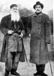Gorkij és Tolsztoj