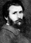 Lotz Károly önarczképe az 1860as évekből