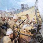 A búr háború, korabeli rajz