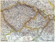 Csehország térképe